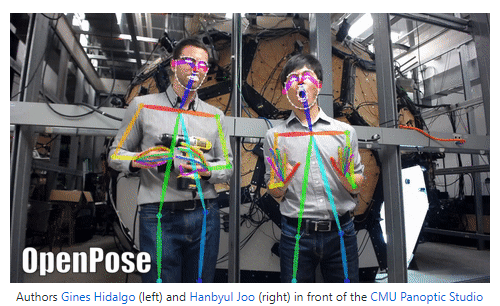 OpenPose represents the first real-time multi-person system to jointly detect human body, hand, facial, and foot keypoints (in total 135 keypoints) on single images.